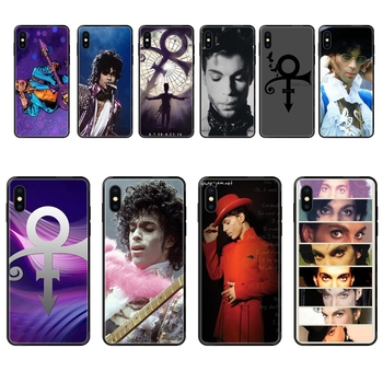 For Galaxy A70 A71 A70E A5 A6 A7 A8 A10 A10S A20 A20S A20E A21S A30S A40 A50 2017 2018 Prince Rogers Nelson Collection Black image