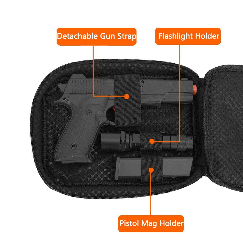arma escondida bolsa tatico dupla camada pistola coldre 01