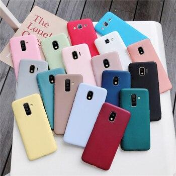 Силиконовый чехол ярких цветов для телефона samsung galaxy a50 a70 a30 a40 a20 a10 galaxi a51 a71 a20e m30s a7 2018, матовые мягкие чехлы из ТПУ