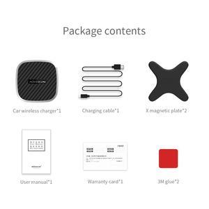 Image 5 - Nillkin 10 Вт Qi Беспроводное Автомобильное зарядное устройство для Iphone 12 11 Pro max XS 8 держатель с креплением на вентиляционное отверстие для Samsung Note 20 S20 S9 Plus для Mi 9