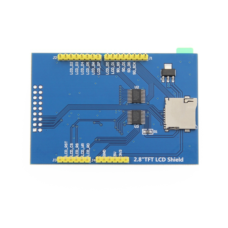 2.8 Inch TFT LCD Color Display Module 320X240 With Contact Panel For Arduino NUO MEGA 2560 Board