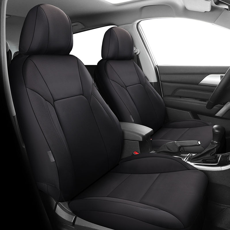 FRONT SEAT COVER MAT ARTIFICIAL LEATHER /& FABRIC FITS KIA STONIC 2017 2018 2019