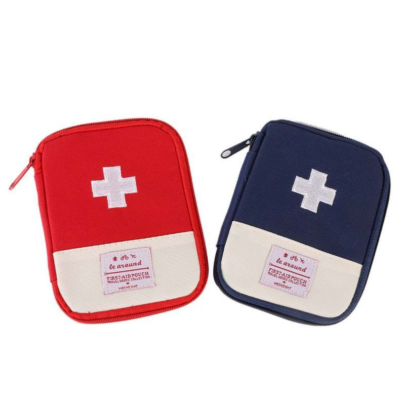 Outdoor Hiking First Aid Emergency Medical Survival Kit Wrap Gear Bag To Hunt Small Travel Medicine Kit New Arrival