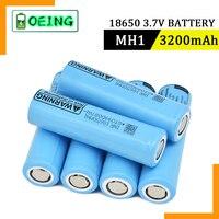 2021 100% batteria ricaricabile al litio originale 3.7v 18650 MH1 3200mah per scarica LG 10A per torcia per elettroutensili drone
