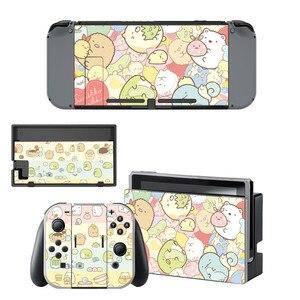 Image 2 - Sumikko Gurashi Nintendo Switch Skin Sticker NintendoSwitch stickers skins for Nintend Switch Console and Joy Con Controller