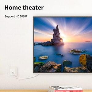 Image 5 - CABLETIME טלוויזיה כבל 90 תואר דיגיטלי טלוויזיה קו לווין אנטנה גבוהה באיכות STB עבור HD טלוויזיה וידאו קו C317