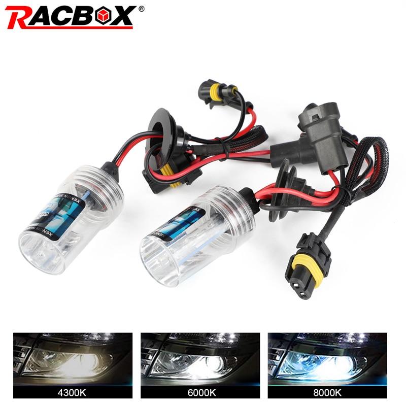 2PCS 55W DC Headlight Headlamp H1 4300K HID Conversion KIT