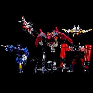 Image 3 - KBB G1 Transformation Robot Soundwave Six Magnetic Tape Troop THF 01P6 Rumble Laserbeak Buzzsaw Anime Action Figure Model Toys