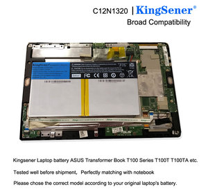 Image 5 - KingSener C12N1320 Nuova Batteria Per ASUS Transformer Libro T100 T100T T100TA T100TA C1 Serie 3.85V 31WH