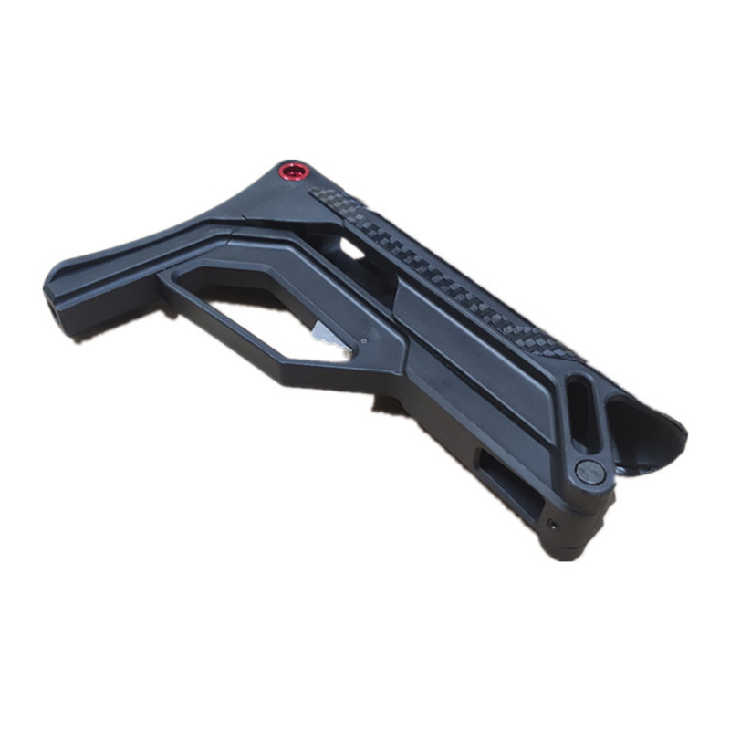 PDW XM-T02 Nylon Tactical Toy Gun Accessories Stock Gel Blaster Upgrade Extended Stock Upgrade Part Replacement Accessories 4