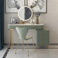 Nordic madeira maciça penteadeira quarto moderno e minimalista janela penteadeira unidade de armazenamento 2019 novo| |   -