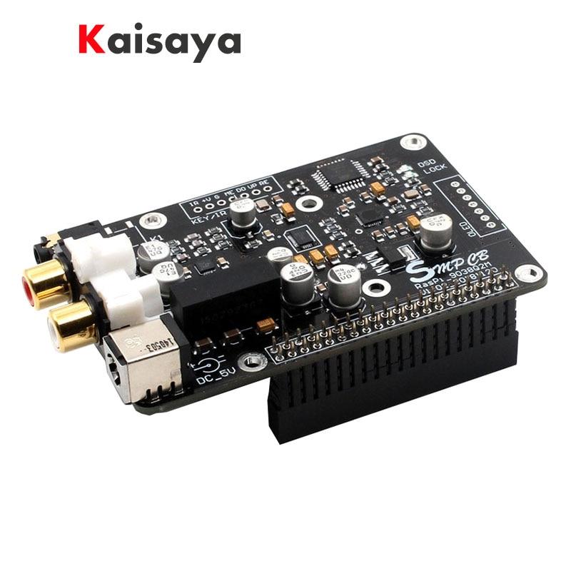 Decodificador de red Digital de radiodifusión, tablero OPA1612 Op para Raspberry Pi DAC a I2S 32bit 9038 K DSD128 G3-001, ES9038q2m 384