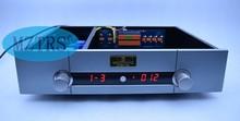Mztrs imitando gaowen preamp combinado amplificador de potência chassi controle remoto controlador volume passivo preamp
