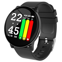 Smart Watch Fitness Blood Pressure Weather Call Reminder Waterproof Bluetooth Band for iOS Android