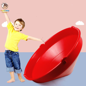 Children's Big Spinning Top Spinning Wheel Spinning Toy Exercise Balance Ability Kindergarten Indoor Outdoor Sports Toysfor Kids(China)