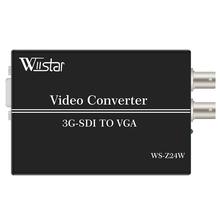 Wiistar SDI Video Audio Converter SDI zu VGA SDI Audio Video Converter SD HD 3G SDI zu VGA + audio Converter für Monitor cheap NONE CN (Herkunft) EU-Stecker US-Stecker AU Stecker UK Stecker SDI to VGA +audio VGA+Audio+SDI 1080P DC5-12V