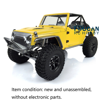 In Stock Painting 1/8 RC JKMAX Capo Metal Chassis Model Crawler Car KIT THZH0395 full rc metal tank car chassis all metal structure crawler big size load large obstacle surmounting tank chassis tracked vehicle