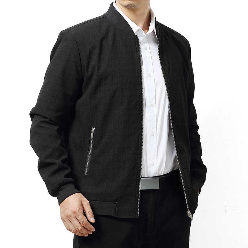 Hohe qualität 8XL 7XL 6XL 5XL MAX Brust 145CM Baseball Jacke Männer neue Frühling herbst Marke Kleidung smart casual plus Größe