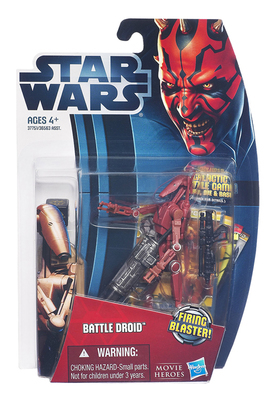 3.75 inch Hasbro Star wars Red fighting robot Action Figure Collection toys for christmas gift with box