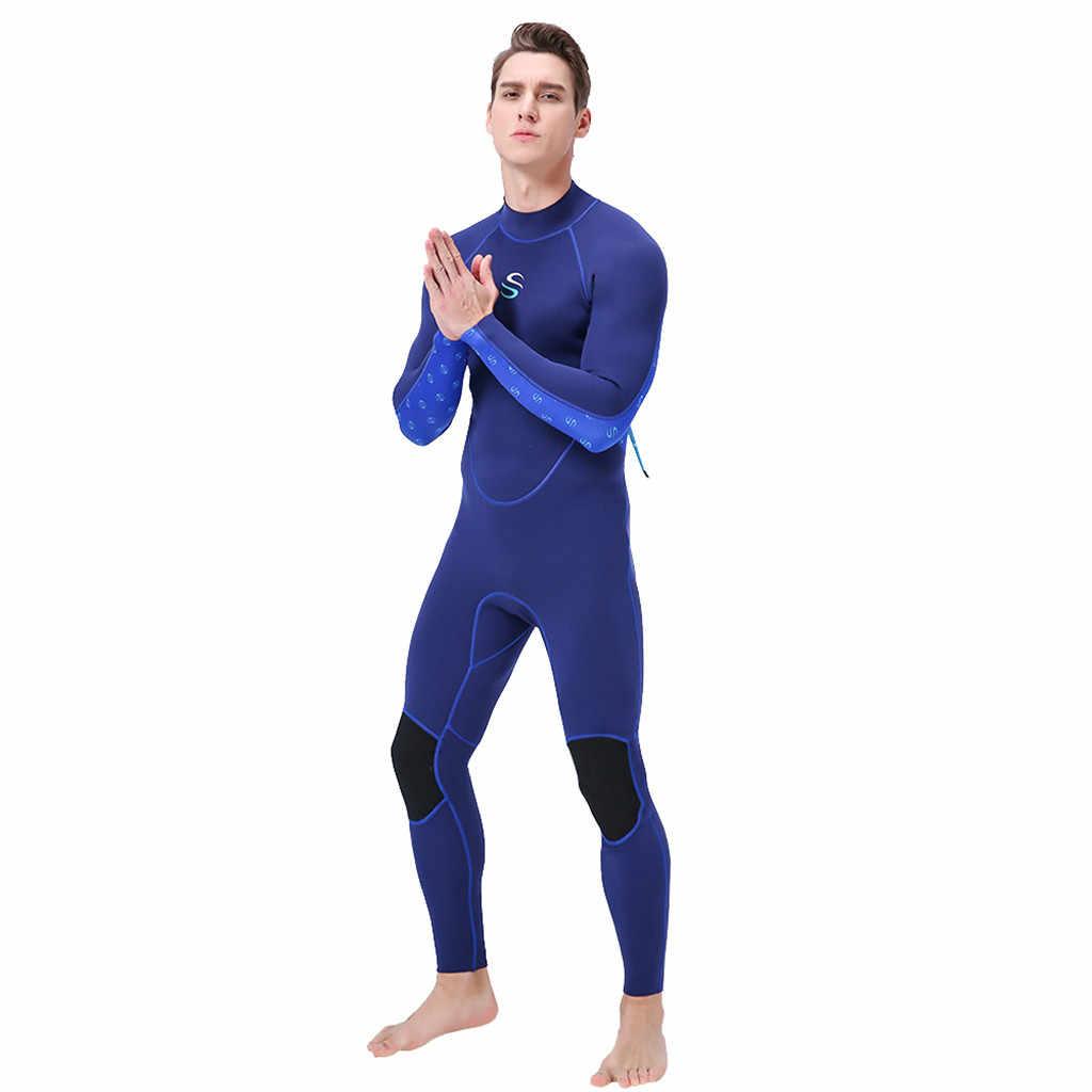 Nieuwe Duiken Wetsuits Full Body Surf Kleding Lange Mouwen Duikpakken Mannen Badmode Sport Scuba Badpakken Jumpsuit Zon Beschermen