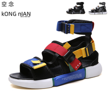 summer men sandals fashion gladiator rome style san
