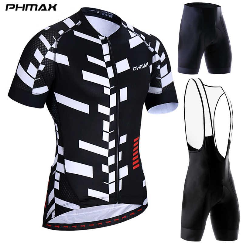 PHMAX verano Anti-UV ciclismo Jersey conjunto de bicicleta de montaña ciclismo ropa deportiva para hombre MTB bicicleta ciclismo traje