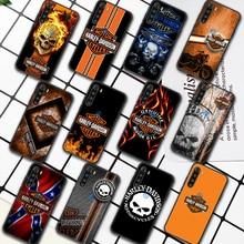 Harley-Davidson Motorcycle Phone Case For XIAOMI Redmi 8 9 9C Note 6 7 8 9 9S K20 K30 K40 Pro Plus black Back 3D Cover Tpu