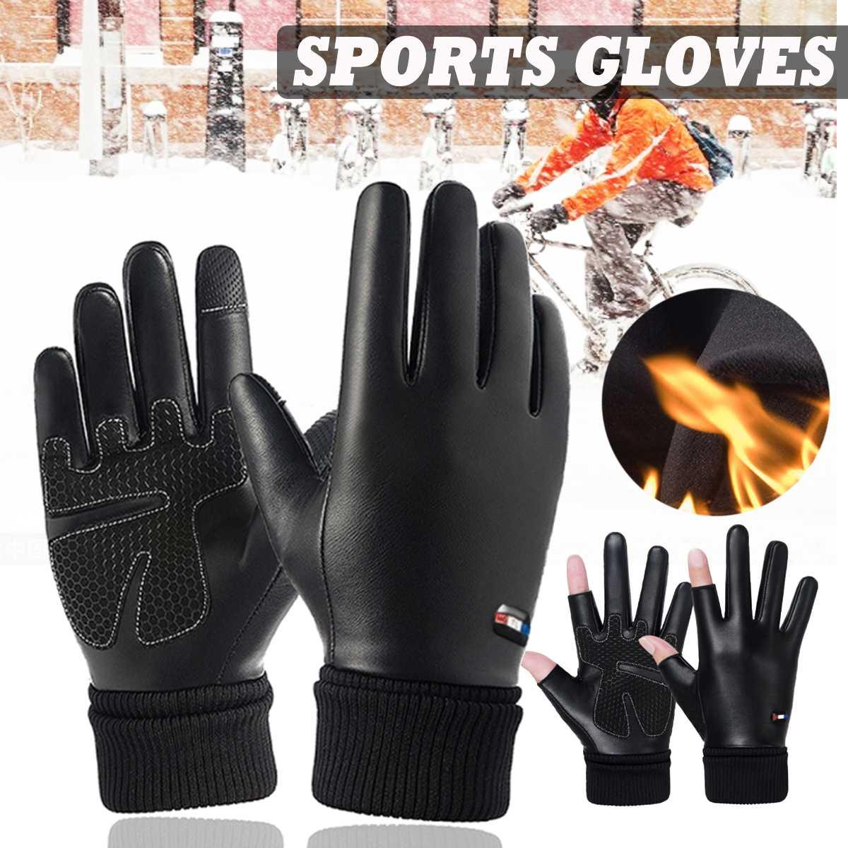 Motorrad Handschuhe Winter Verdicken Wärmer Motorrad Roller Muffs Wasserdicht Winddicht für Männer Frauen Motorrad Racing