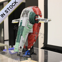 IN STOCK 05037 Slave I Compatible with wars 75060 Star Building Blocks Bricks Educational Toys Gift 81039(China)