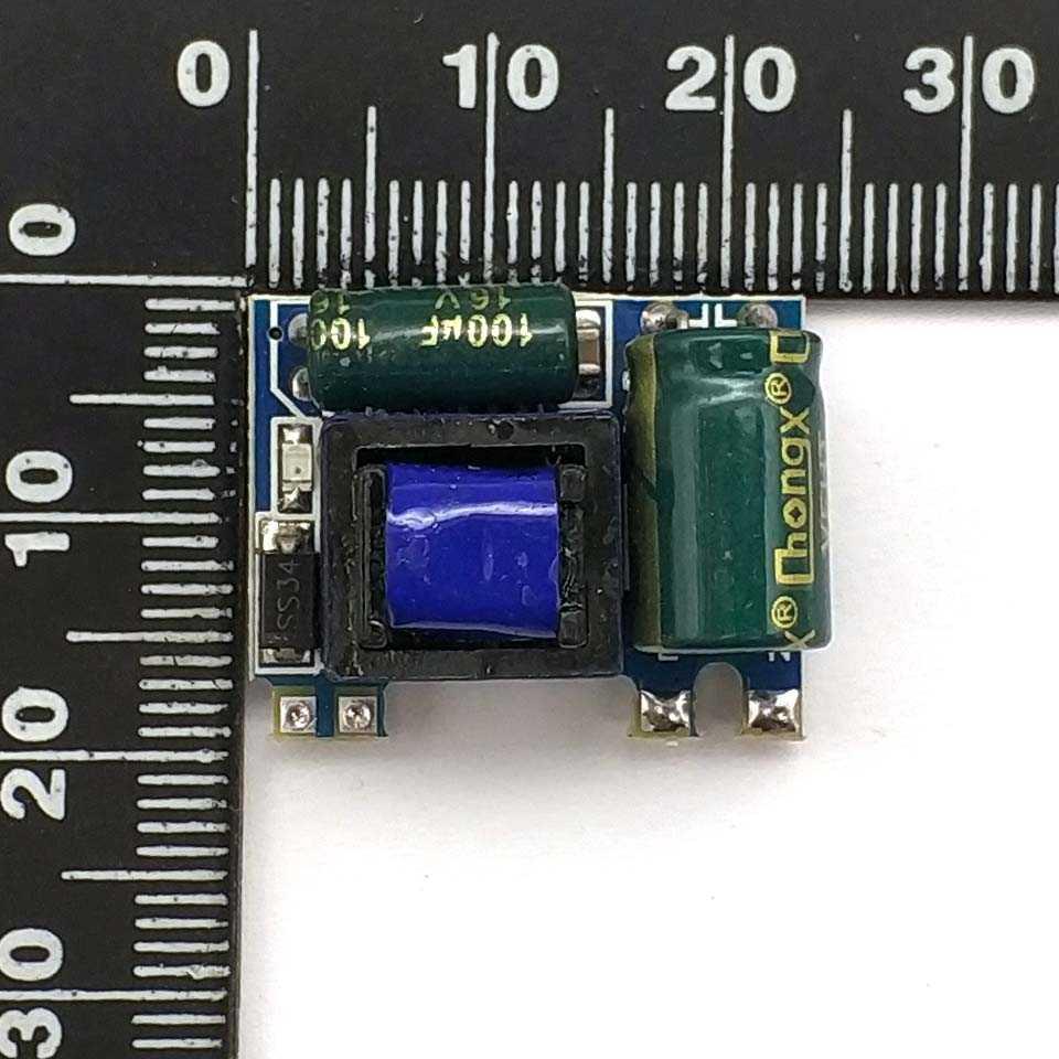 Précision 5V600mA (3 W) module d'alimentation à découpage isolé/module buck de AC-DC 220 à 5V