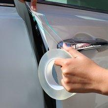 Adesivos de carro protetor do peitoril da porta fita auto pára-choques tira scratchproof para lexus é es gs gx ls500h nx rx lx lc rc 200 250 570