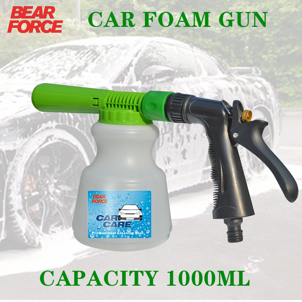Car Wash Garden Hose Foam Gun Car Cleaning Snow Foam Lance Car Water Soap Foam Sprayer Low Pressure Tap Foam Gun