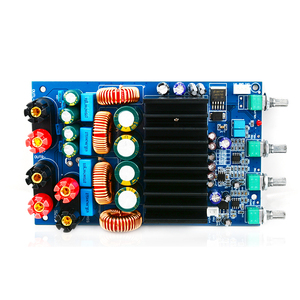 Image 4 - UNISIAN TAS5630 2.1 אודיו מגבר לוח 2X150W + 300W Digtial 2.1 ערוצים Class D גבוהה כוח מגבר עבור קולנוע ביתי מערכת