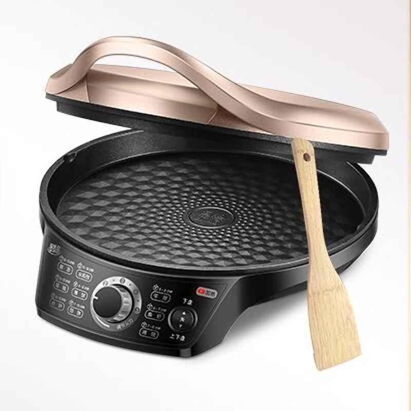electric cooker Electric baking pan, electric cake stall, household double-sided heating pancake pan, pancake maker 2