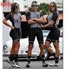 Kafit verão novo de manga curta triathlon esportes ciclismo macacão roupa ciclismo feminino macacão ir shorts terno 19