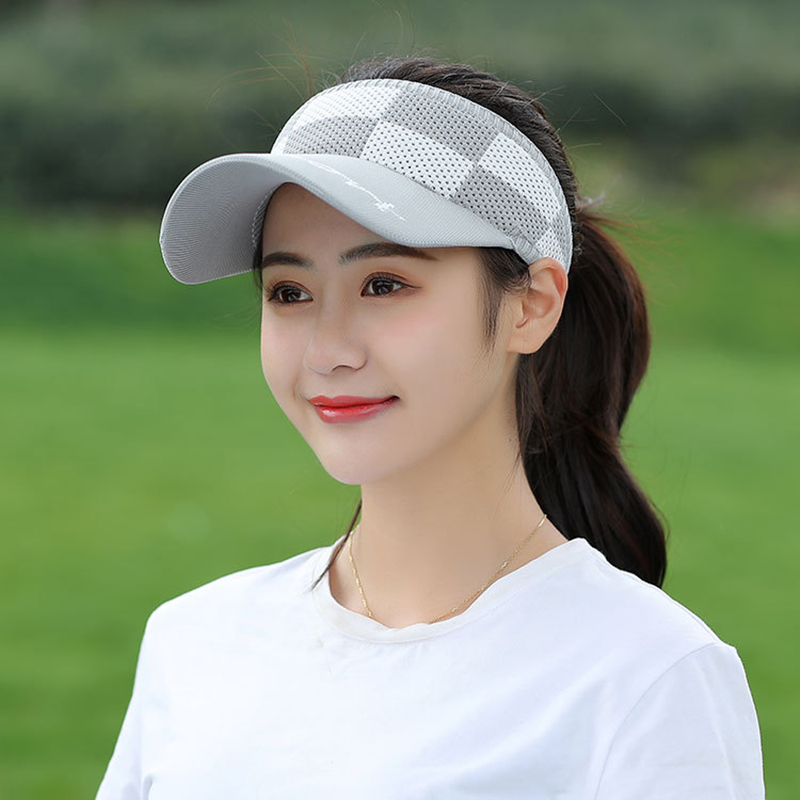 Tennis Caps Golf Outdoor Hat Sun Visor Beach Sports Travel Summer Women Men Unisex Peaked Knitted