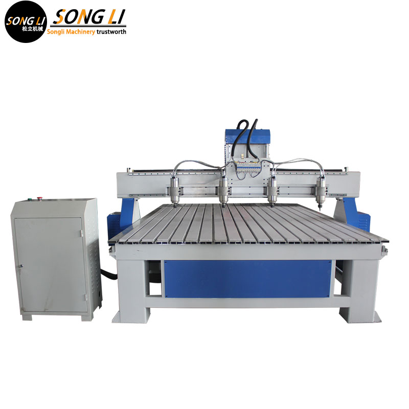 Songli  1325  3.2KW 380V Four Rotation Axes Cnc Wood Cutting Router