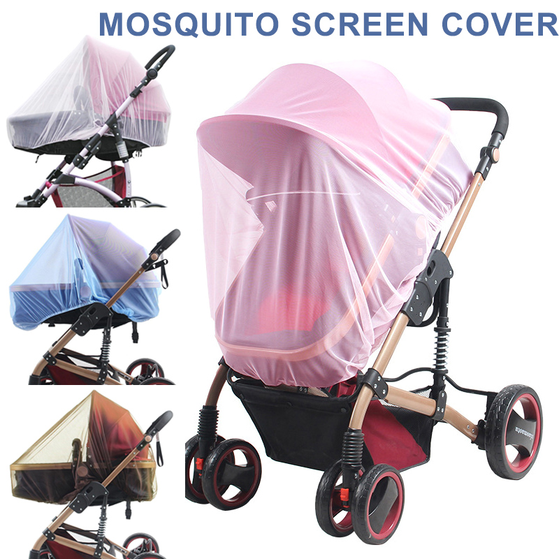 Baby Stroller Mosquito Net Infant Car Seats Insect Net Mosquito Repellent for Carriers Cradles Crib BM88