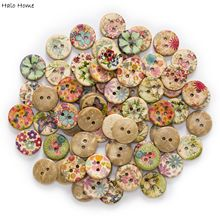 Covered Clothing Replace-Decor Coconut-Buttons Flower Fabric Handmade Scrapbooking Sewing