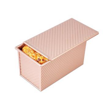 450g herramientas de pastel Rectangular caja de tostadas antiadherente recipiente para rebanada...