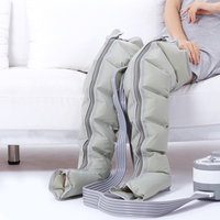Inflatable Air Compression Massage Set Leg Cover Calf Arm Boot Socks Air Pressure Waist Belt Muscle Massage Relax Pain Relief