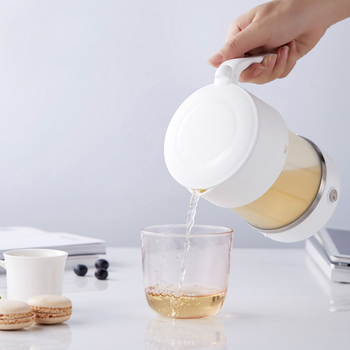 Foldable Electric Kettle Fast Boiling Silicone Water Kettle Teapot Portable Water Boiler Pot for Outdoor Camping Travel AU Plug 0 5l mini electric kettle stainless steel 1000w portable travel water boiler pot sonifer
