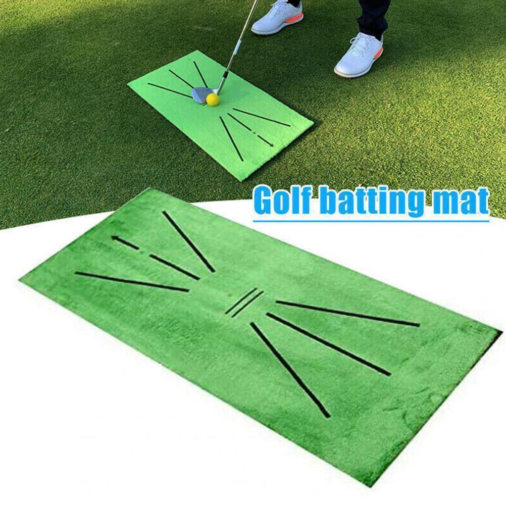 Тренировочный мат для гольфа Гольф Коврик для ударов прочный Портативный Для Игры В Гольф Практика СПИД оборудование для двора для офиса