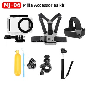 Image 4 - For Xiaomi Mijia 4K Accessories Kit Self Stick Waterproof Housing Case Box Frame Shell Cover Cap Protector Case Cover Lens Mijia