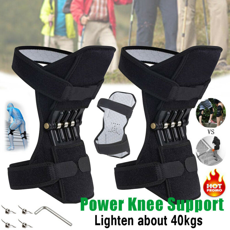1 Pair 360° Brace Power Leg Kneepad Power Joint Support Knee Pads Compression