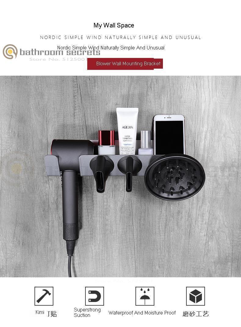 Dayson фен кронштейн туалет перфорация-свободный воздушный кронштейн барабана фен сосуд кронштейн бытовая техника кронштейн