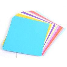 Pure Origami 15cm Square Monochrome Handmade Thousand Paper Crane Rose Kindergarten DIY Color 100