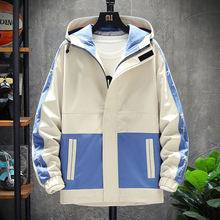Men Clothing Coat Jacket Spring Men's Korean-Fashion Big/plus-Size Casual Outwear Youth