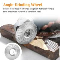 New Woodworking Wood Angle Grinding Wheel Sanding Carving Rotary Tool NO.45 Steel Abrasive Disc for Angle Grinder