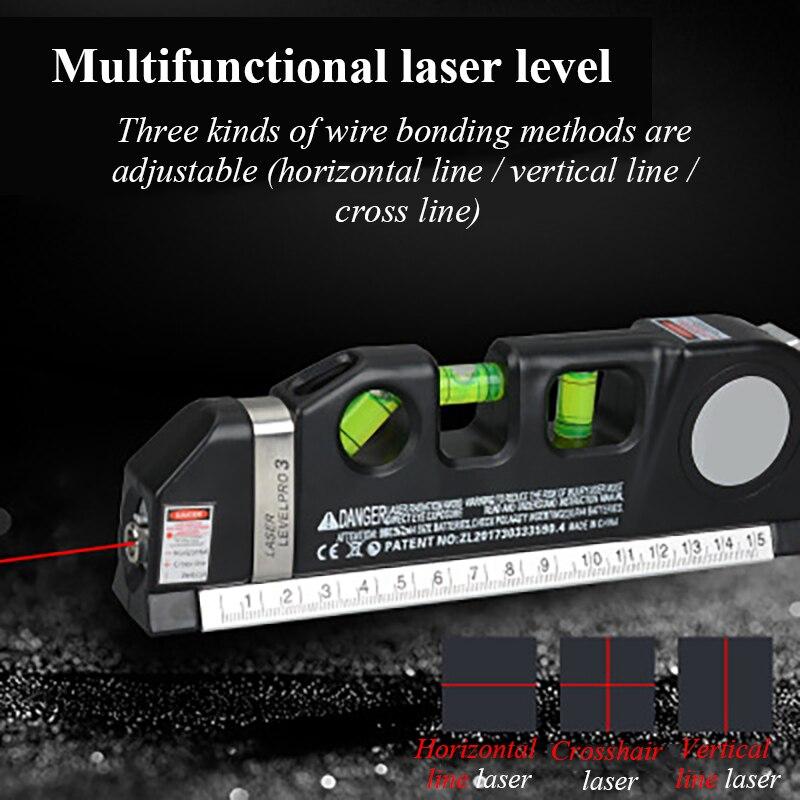 штатив для лазерного уровня 2 линий 3D выравнивание самоуровня Цифровой инклинометр Высокоточный уровень духа Высокая магнитная линейка ур...